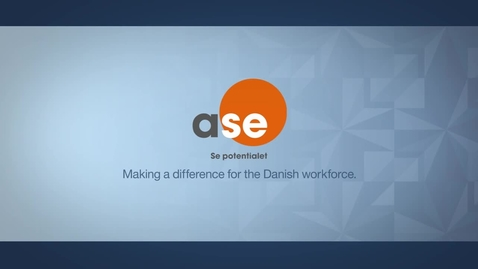 Thumbnail for entry A-Kassen for Selvst_ndige (ASE) improves sales retention and customer satisfaction
