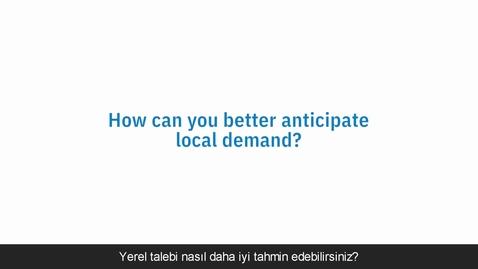 Thumbnail for entry Yerel Talebi Daha İyi Tahmin Etme