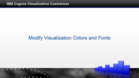 Thumbnail for entry Modify Visualization Colors and Fonts