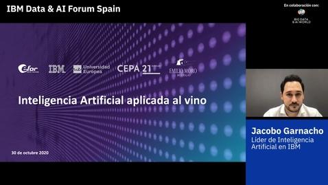 Thumbnail for entry Inteligencia Artificial aplicada al mundo del vino