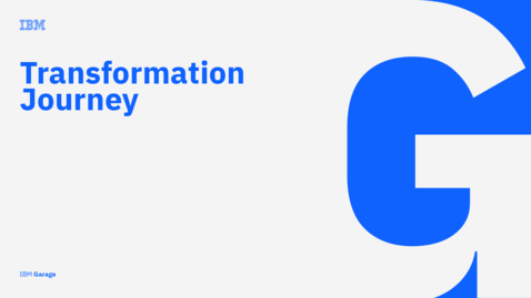 Thumbnail for entry IBM transformation story