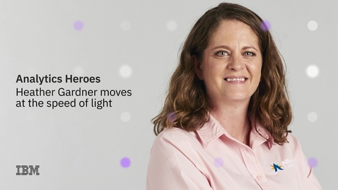 Thumbnail for entry Analytics Hero: Heather Gardner