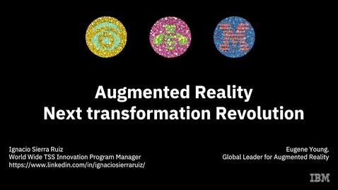 Thumbnail for entry Realidade Aumentada – Próxima Revolução na Transformação de Suporte de TI