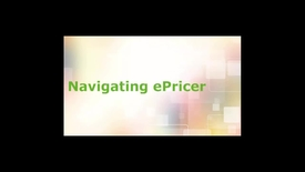 Navigate ePricer for Business Partners