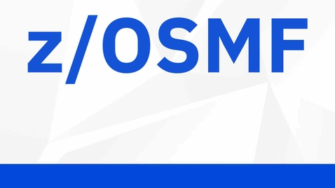 Thumbnail for entry Use z/OSMF to validate security configuration of DFSMS