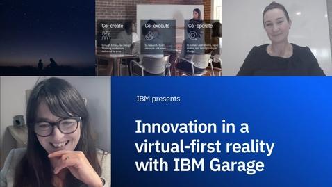 Thumbnail for entry Инновации в виртуально-ориентированной реальности с IBM Garage