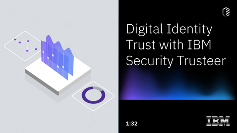 Thumbnail for entry Digital Identity Trust with IBM Security Trusteer