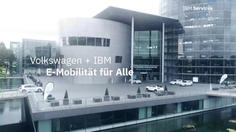 Thumbnail for entry Volkswagen Sachsen + IBM E-Mobilität für Alle