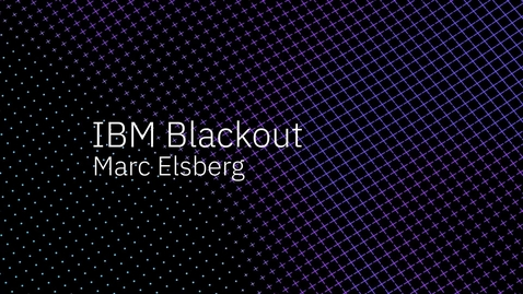 Thumbnail for entry Interview of Marc Elsberg