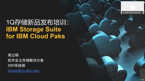 Thumbnail for entry IBM Spectrum Suite for IBM Cloud Paks