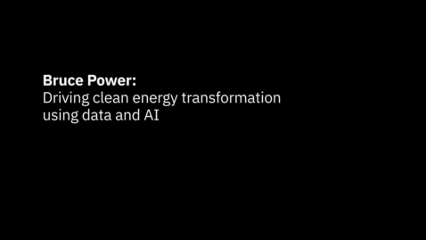 Thumbnail for entry How unlocking the value of data can optimize nuclear power generation