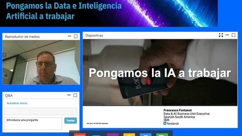 Thumbnail for entry Pongamos la Data e IA a trabajar
