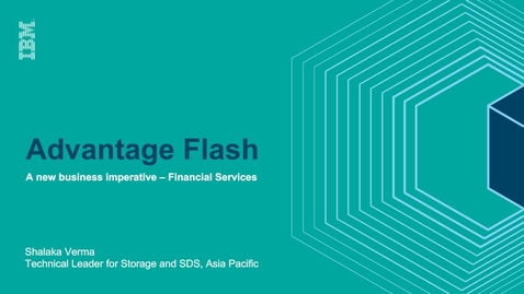 Thumbnail for entry How to leverage Flash to its strengths for financial workloads?