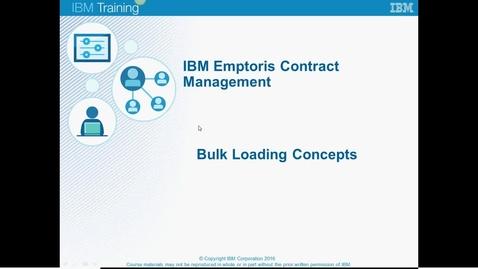 Thumbnail for entry 02 Bulk Loading Concepts C.mp4