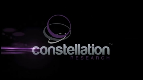 Thumbnail for entry Constellation Research Video: The Future of Robotic Process Automation (RPA)
