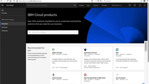 Thumbnail for entry IBM Cloud Products