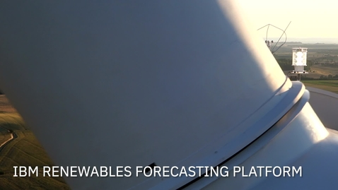 Thumbnail for entry IBM Renewables Forecasting Platform Demo