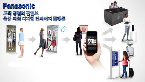 Thumbnail for entry Panasonic: 고객 경험의 진일보, 음성 지원 디지털 컨시어지 플랫폼