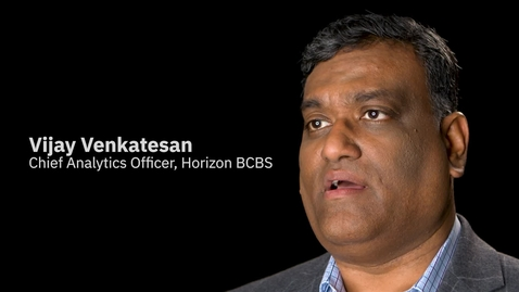 Thumbnail for entry Horizon BCBS + IBM Services: Transforming the empathy business