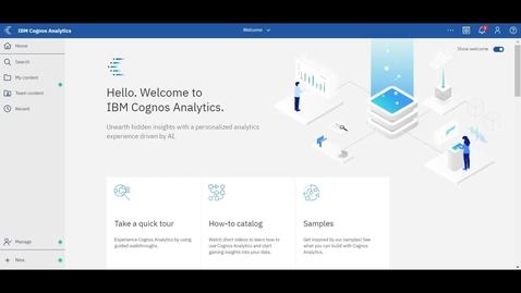 Thumbnail for entry IBM Cognos Exploration