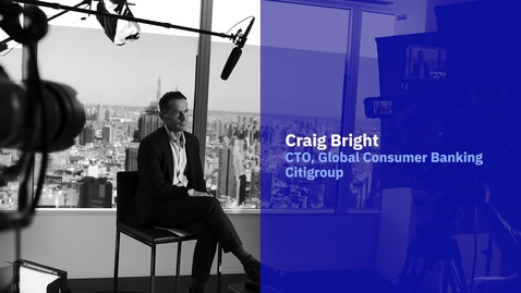 Thumbnail for entry IBM and Citibank: using analytics to change the financial world