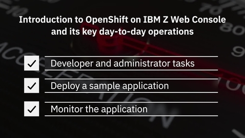 Thumbnail for entry Red Hat OpenShift - Hybrid Cloud Platform