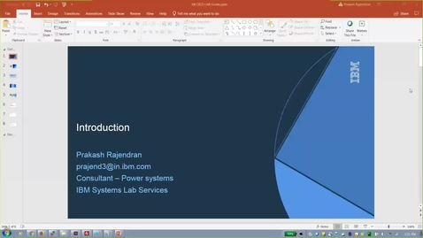 Thumbnail for entry Tutorial_ IBM Cloud Private Application Modernization with Transformation Advisor on Power Systems