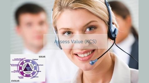 Thumbnail for entry KCS: Assess value