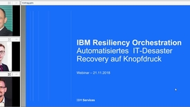 Thumbnail for entry Minimale Ausfallzeiten Wie Disaster Recovery automatisiert funktioniert