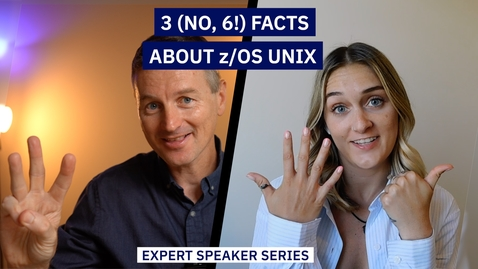Thumbnail for entry Three (no, SIX!) facts about z/OS UNIX