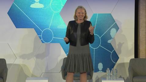 Thumbnail for entry Ginni Rometty Keynote - FinTech Innovation Festival