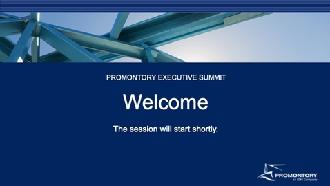 Thumbnail for entry Promontory Executive Summit - Feb. 24, 2021