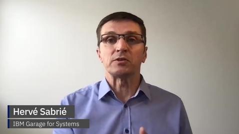 Thumbnail for entry Hervé Sabrié - Four ways to transform your mainframe for a hybrid cloud world