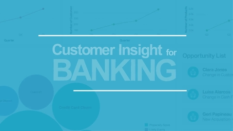 Thumbnail for entry Customer insight brings a personal touch to finance