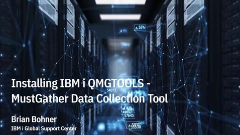 Thumbnail for entry QMGTools Install for IBM Support