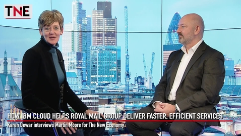 Thumbnail for entry How IBM Cloud Helps Royal Mail Group Deliver Faster, Efficient Services