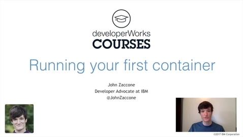 Thumbnail for entry Docker Essentials Lab 1 Overview - Running Your First Docker Container