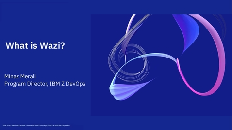 Thumbnail for entry What is IBM Wazi for Red Hat CodeReady Workspaces?