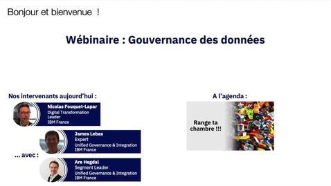 Thumbnail for entry Gouvernance des données... Range ta chambre avec Infosphere Information !