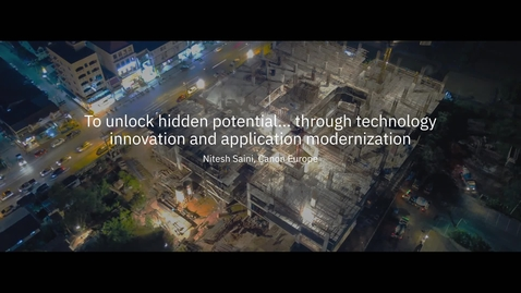 Thumbnail for entry Modernizing applications with IBM Hybrid Cloud technology