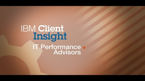 Thumbnail for entry IT Performance Advisors delivers fast ROI using cloud-based IBM Tivoli software