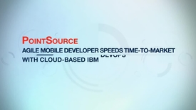 Thumbnail for entry PointSource shortens scrum meetings by 50 percent with IBM DevOps services for Bluemix