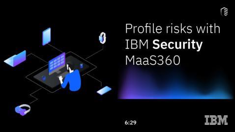 Thumbnail for entry How-to Video: User-based Risk Assessment