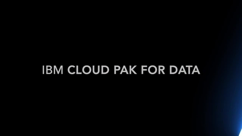 Thumbnail for entry IBM Cloud Pak for Data - Analyze