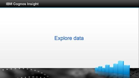Thumbnail for entry Explore data