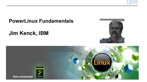 Thumbnail for entry POWERLinux Fundamentals - IBM Training