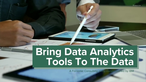Thumbnail for entry Bring analytics tools to your data