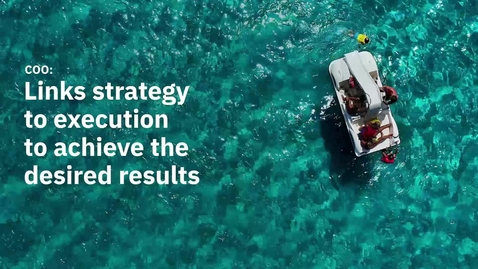 Thumbnail for entry COO: links strategy to execution to achieve results_EN