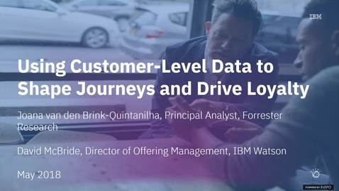 Thumbnail for entry Learn How to Use Customer-Level Data to Shape Customer Journeys and Drive Loyalty