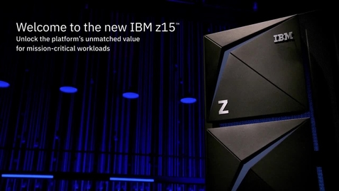 Thumbnail for entry Ross Mauri 和 Ray Wang 探討 IBM z15 在混合雲環境中的作用